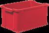 Červené přepravky - Unibox