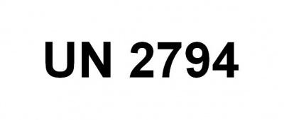 Nálepka UN 2794